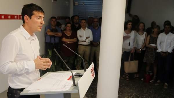 Rafa García, candidato a secretario general del PSPV