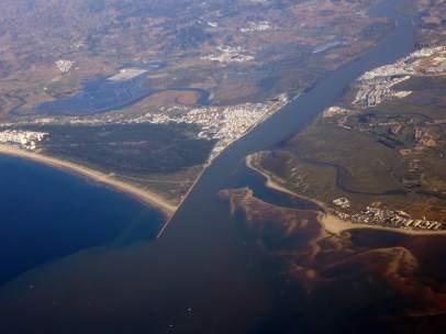Desembocadura del Guadiana