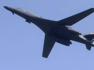 Un bombardero B-1