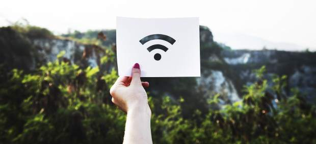 Conexión wifi, internet, tráfico ip