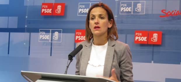 La secretaria general del PSN, María Chivite.