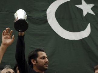 Pakistán celebra su victoria en críquet