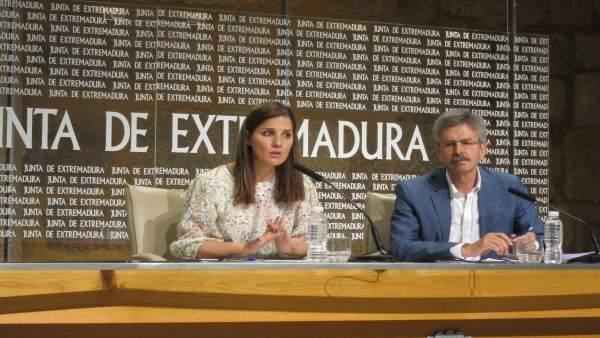 Isabel Gil Rosiña y José Luis Navarro