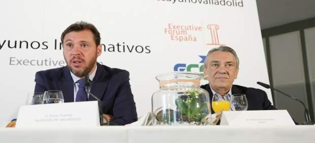 El portavoz de la Ejecutiva del PSOE y alcalde de Valladolid, Óscar Puente