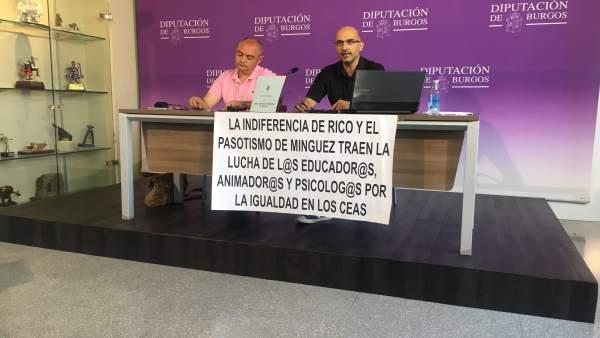Jorge Guinea (i) y Fernando Ojeda (d)