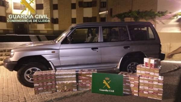 La Guardia Civil localiza tabaco de contrabando en Arsèguel (Lleida)