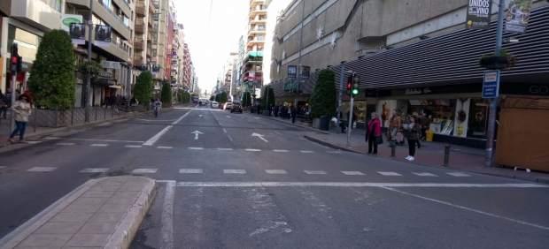 Avenida de Maisonnave, centro comercial de Alicante