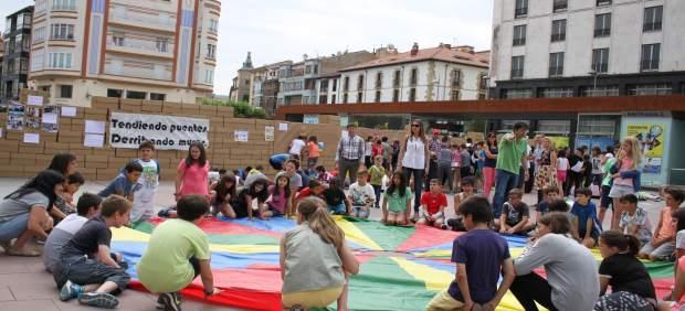 Jornada en Soria de visibilización de los refugiados.