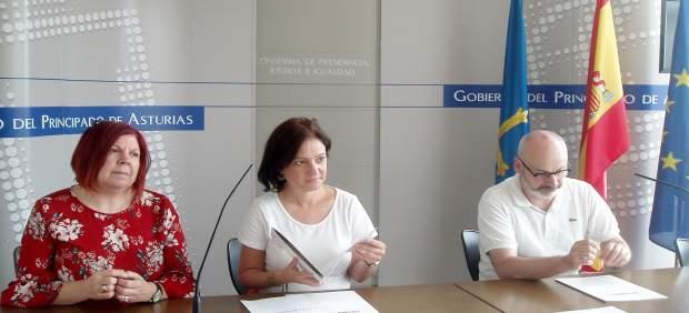 La directora general del Instituto Asturiano de la Mujer y Políticas de Juventud