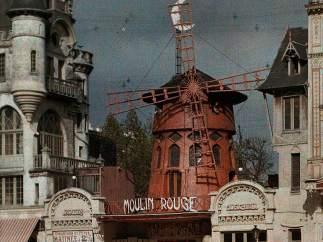 MOULIN ROUGE, PARÍS, 1914