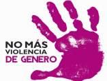 Cartell No més violència de gènere