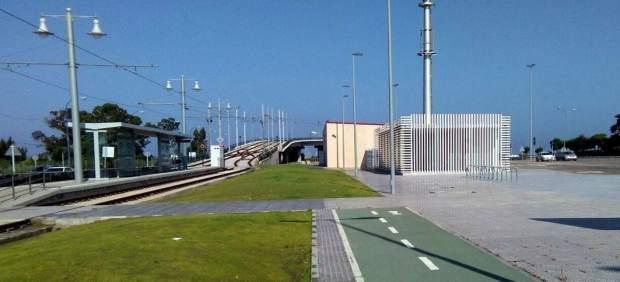 Trabajos en la estación intermodal de San Fernando