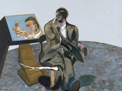 Retrato de George Dyer en un espejo