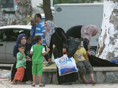 Refugiados sirios en Argelia