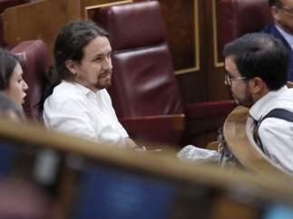 """Iglesias respalda a Mayer y Sánchez Mato: """"Les atacan por investigar la corrupción"""""""