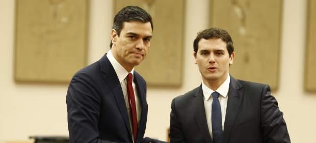 Sánchez y Rivera se reúnen más de un año después de su fallido pacto de gobierno