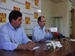 Joaquín Tomás y Julio Esteban, del PAR
