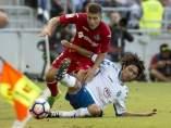 El Tenerife da el primer paso hacia el ascenso al derrotar al Getafe en la ida con gol de Jorge