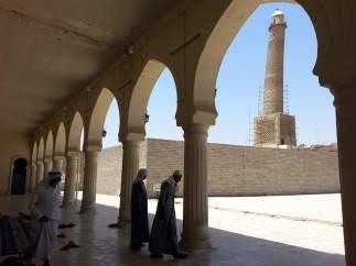Mezquita Al Nuri, en Mosul (Irak)