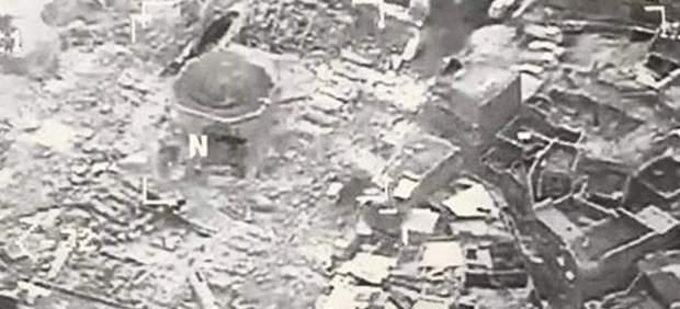 Mezquita de Mosul, destruida
