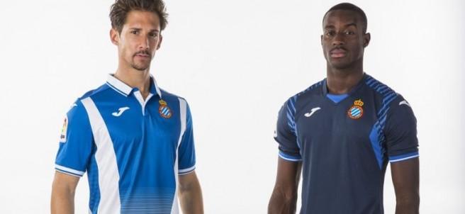 Nuevas camisetas del Espanyol