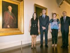 El primer retrato oficial de Carlos IV de Goya llega a Zaragoza