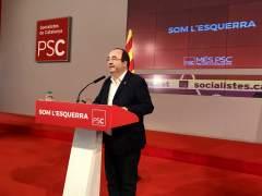 Iceta será el candidato del PSC a la Presidencia de la Generalitat