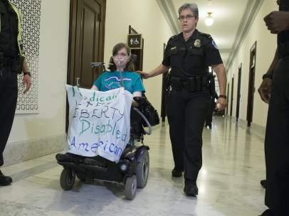 Protesta por la reforma sanitaria