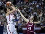 España supera sin problemas a Letonia y sella su billete para las semifinales del Eurobasket