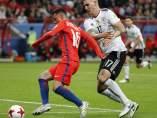 Alemania y Chile empatan y aplazan el pase a semifinales en la Confederaciones