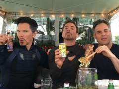 Doctor Strange, Iron Man y Hulk se toman un descanso juntos