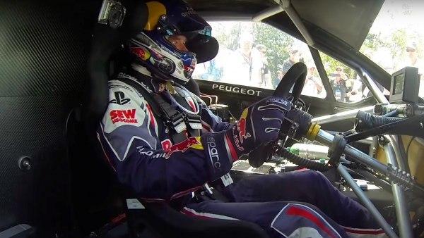Subida de Sébastien Loeb a Pikes Peak
