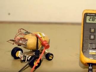 La patata 'autónoma' que se porta mejor que tu gato