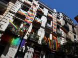 Fachada engalanada para el World Pride Madrid