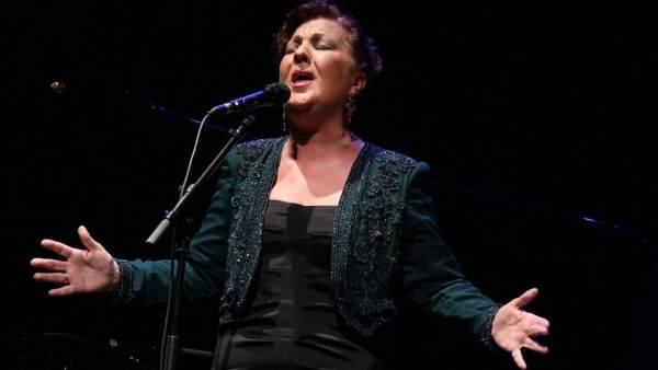 La cantaora Carmen Linares
