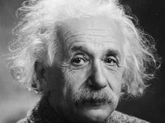 Imagen de Einstein poco antes de su muerte