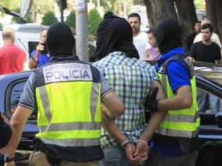 """El yihadista detenido en Madrid estaba en vías de """"planificación de un atentado"""""""