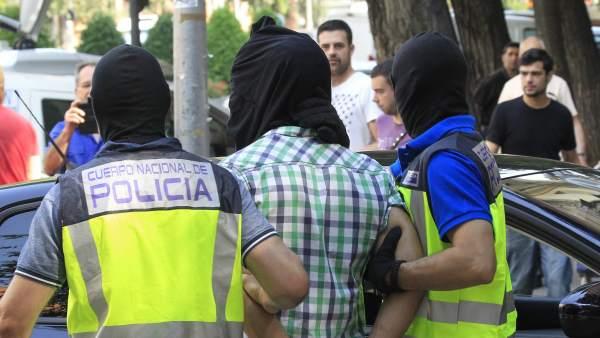 El yihadista detenido en Madrid planificaba un ataque