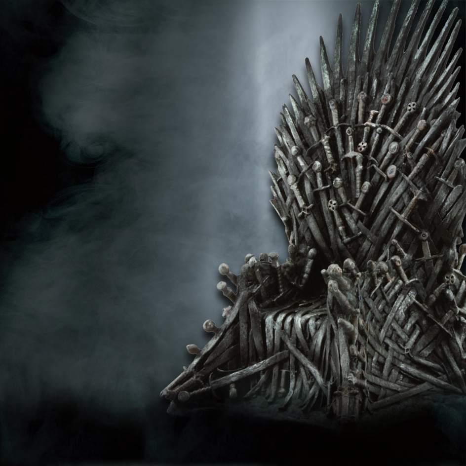 El 39 trono de hierro 39 de juego de tronos llega a santa for Silla juego de tronos