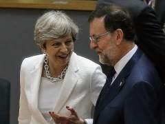 """Rajoy: """"La propuesta de May no me sonó mal, pero me podía haber sonado mejor"""""""