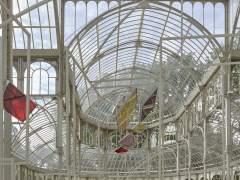 El Palacio de Cristal se convierte en 'sala de proyección'
