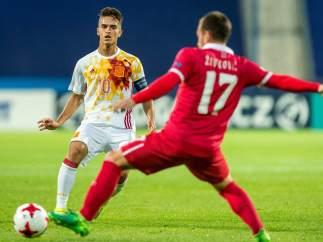 Los suplentes de la sub-21 completan ante Serbia el pleno de España en la Eurocopa