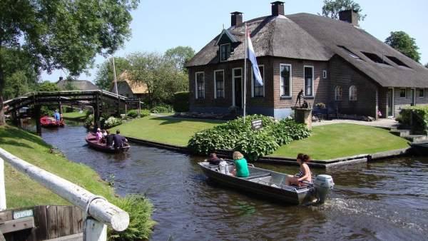 Giethoorn, en Holanda
