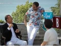 Julio Iglesias, entrevistado por la madre de un presentador