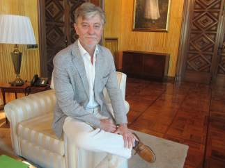 El alcalde de Zaragoza, Pedro Santisteve