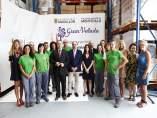Lambán inaugura las nuevas instalaciones de Gran Velada.