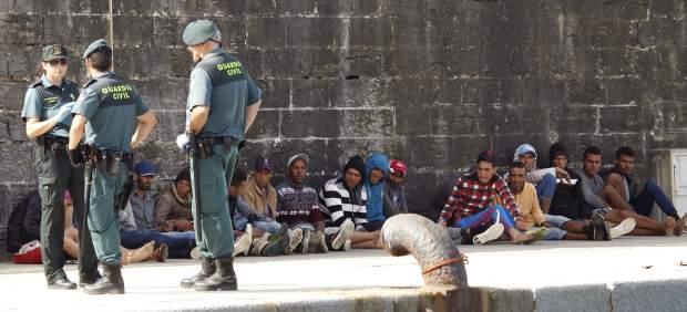 Inmigrantes llegan a las costas españolas