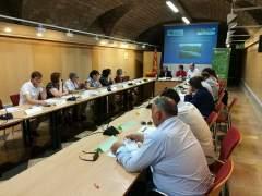 Reunión del proceso de revisión del plan de saneamiento y depuración.