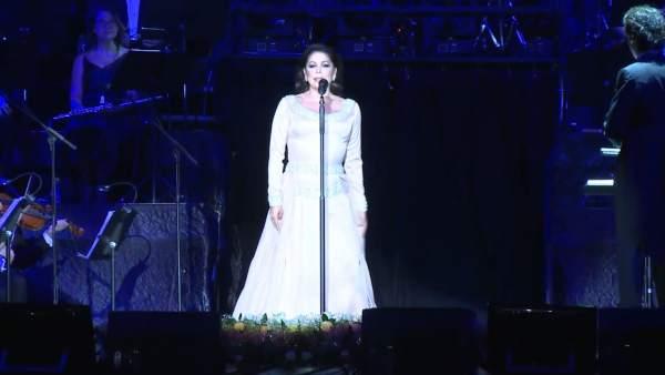 Emocionante concierto de Isabel Pantoja en Sevilla