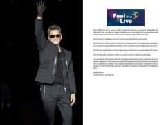 Fallo masivo del 'streaming' del concierto de Alejandro Sanz